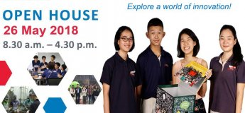 Open House 2018 @School of Science and Technology, Singapore