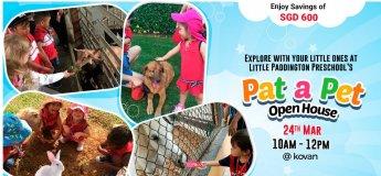 Little Paddington Preschool Invites You To Pat-A-Pet Open House!