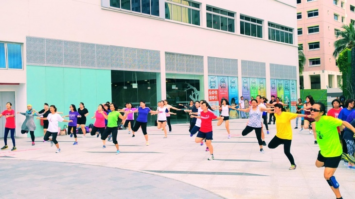 Zumba Workout by HPB at VBP