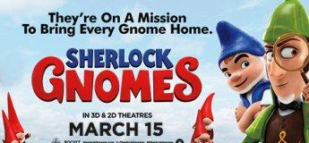 Sherlock Gnomes at Shaw Theatres JCube