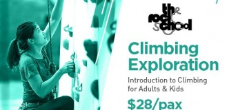 Climbing Exploration Intro to Climbing (Our Tampines Hub)