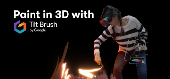 Paint in 3D with Tilt Brush by Google