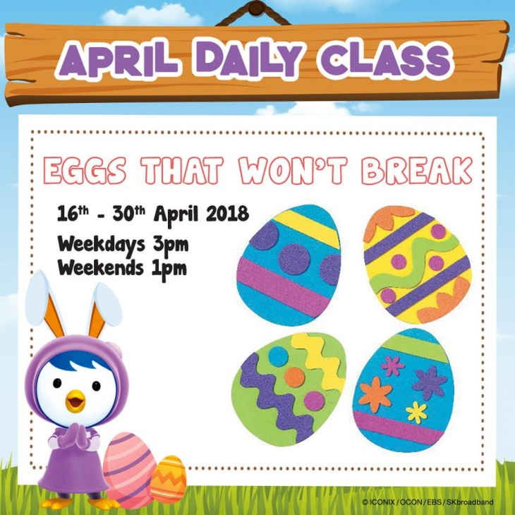 April Daily Class: Eggs that Won't Break