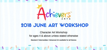 2018 June Art Workshop@Achievers Arts
