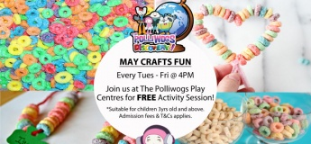 May Serious Fun Discovery – Mother's Day Crafts at The Polliwogs@Eastpoint Mall