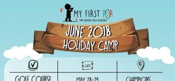 June Holiday 2018 Golf & Play Camp