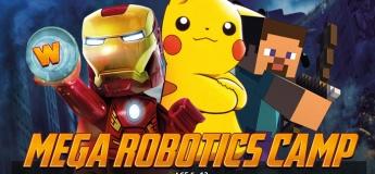 Mega Robotics Pokemon Avengers Minecraft Lego Robotics Scratch Coding School Holiday Summer May to June 2018 Camp