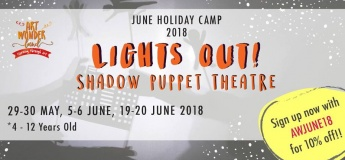 Lights Out! Shadow Puppet Theatre Camp
