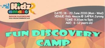 Fun Discovery Camp at Kidz Amaze@SAFRA Jurong