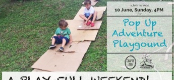 Pop-Up Adventure Playground at Clementi Woods