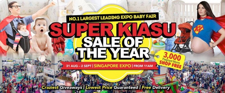 No. 1 Largest Leading Expo Baby Fair @ End Aug 2018