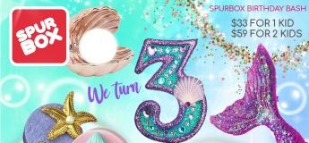Spurbox 3rd Anniversary : Underwater Party