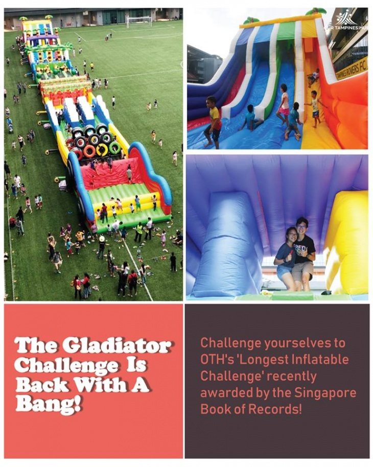 Have a Go at the Gladiator Challenge