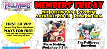 July Members Day at The Polliwogs@VivoCity