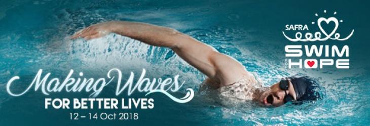 SAFRA Swim For Hope 2018@Jurong