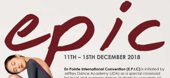 En Pointe International Convention is back for a 3rd season!