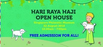 Hari Raya Haji Open House at Singapore Philatelic Museum