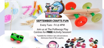 September Serious Fun Discovery - Race Car Making at The Polliwogs@Eastpoint Mall