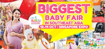 Baby Market Fair - 12 to 14 October 2018 at Singapore Expo