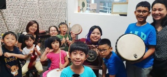 Free Trial! Kids Percussion Course!