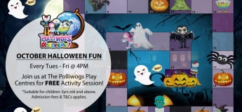 October Serious Fun Discovery: Halloween Giant Board Game at The Polliwogs@Eastpoint Mall