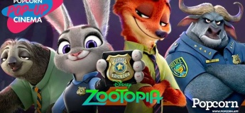 Popcorn Pop-Up Cinema For Kids: Zootopia