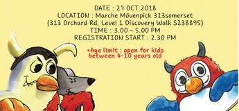Marché Mövenpick Halloween Kid's Party