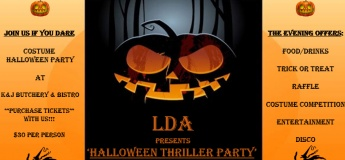 Halloween Thriller Party