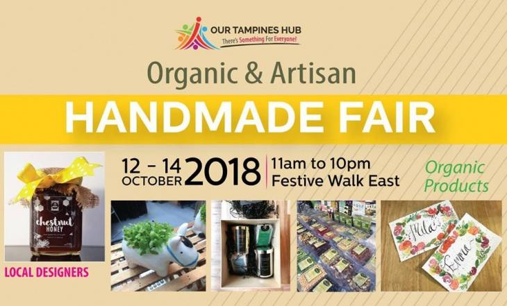 Organic & Artisan Handmade Fair at Our Tampines Hub