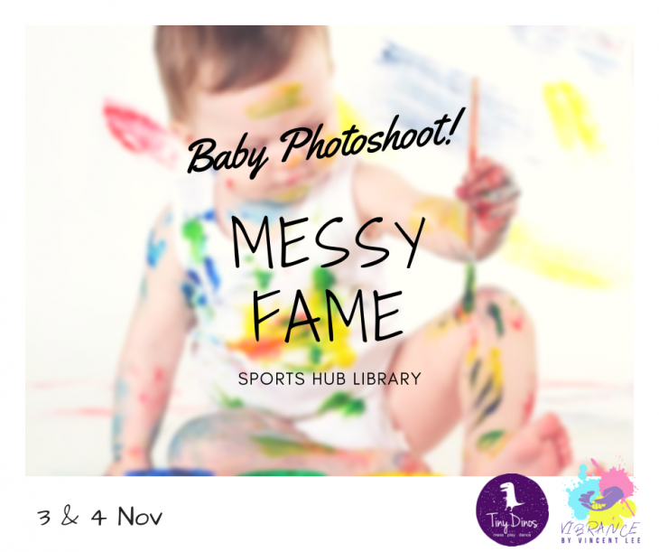 Messy FAME Baby Photoshoot