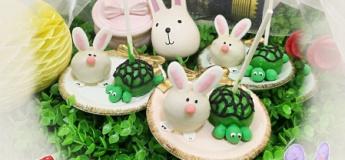 Tortoise & hare cakepops @ Spur Box