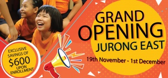 Grand Opening @ Jurong East!
