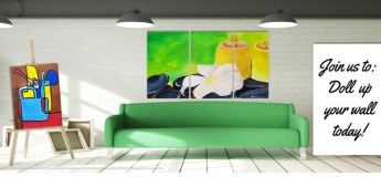 Dolling up your wall with a Triptych!