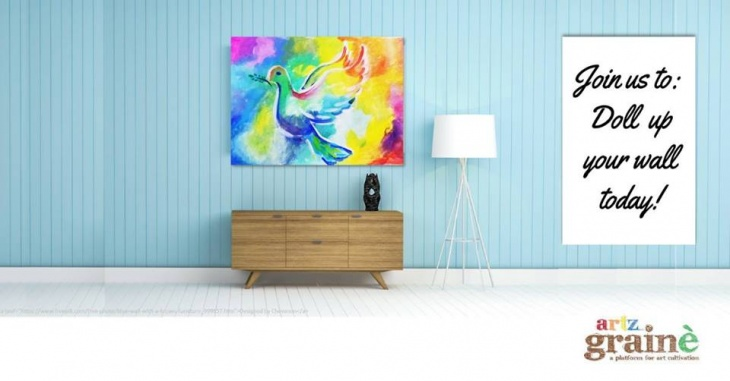 Doll up your wall with a painting