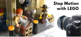 Stop Motion with LEGO @ Artz Graine Art Studio