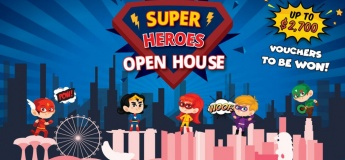 Superheroes Open House @ Little Green House