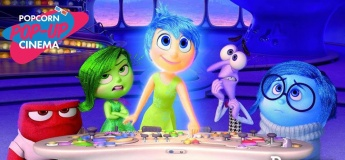Popcorn Pop-Up Cinema For Kids: Inside Out