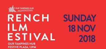 French Film Festival 2018 at Our Tampines Hub, Festive Plaza