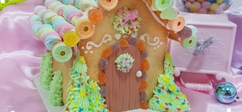 Junior Baker Candy Icing House Decoration