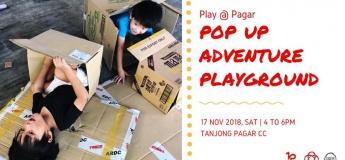 Pop-Up Adventure Playground at Tanjong Pagar Community Club