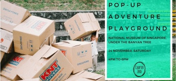 Pop-Up Adventure Playground at National Museum of Singapore