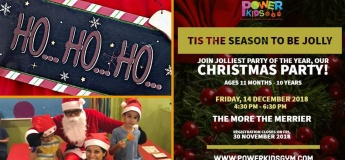 Christmas Party@Power Kids Gym