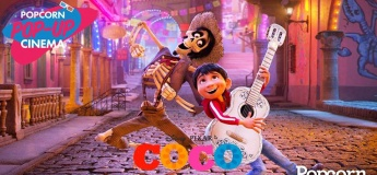 Popcorn Pop-Up Cinema For Kids: Coco