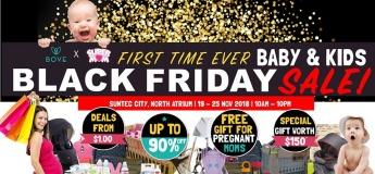 Baby & Kids Black Friday Sale - Bove X SuperMom
