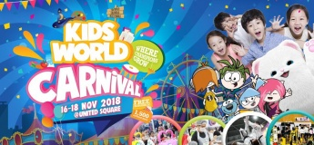 Kids World Carnival @ United Square Shopping Mall The Kids Learning Mall