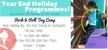 Year End Holiday Programmes@Tumble Joy Gymnastics