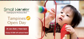 Small Wonder Tampines Open Day