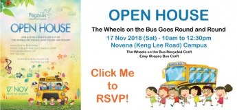 Open House on 17 Nov 2018