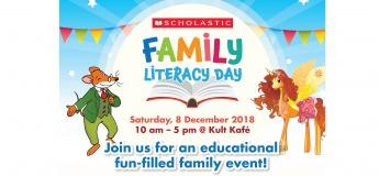 Scholastic Family Literacy Day (SFLD) 2018