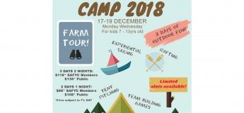 SAF Yacht Club: Kids Castaway Camp